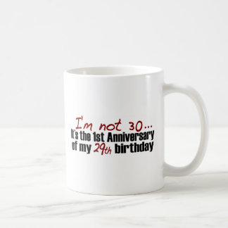 I'M Not 30 Coffee Mug