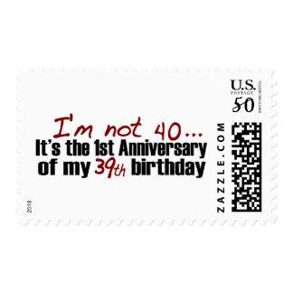 I'M Not 40 Postage