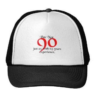 I'm not 90 mesh hats