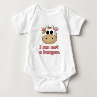 I'm Not a Burger Baby Bodysuit