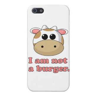 I'm Not a Burger Cover For iPhone SE/5/5s