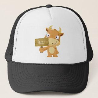 I'm not a burger trucker hat