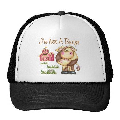 I'm Not A Burger Vegan/Vegetarian Hat/Cap Trucker Hat