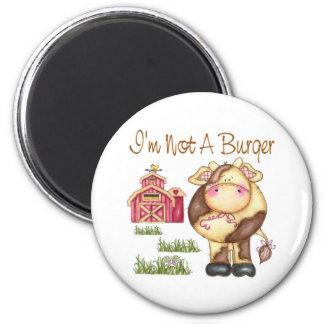 I'm Not A Burger Vegan/Vegetarian Magnet