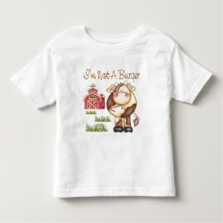 I'm Not A Burger Vegan/Vegetarian Toddler T-Shirt