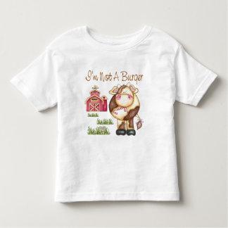 I'm Not A Burger Vegan/Vegetarian Toddler T-Shirt