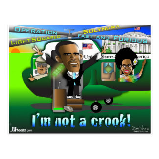 I'm Not a Crook Postcard