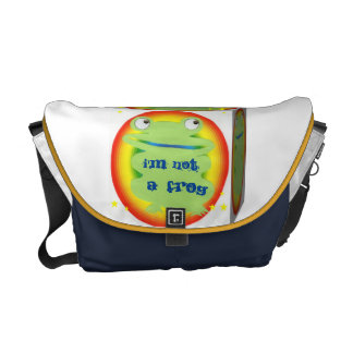 i'm not a frog messenger bags