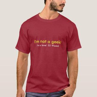I'm not a geek Template T-Shirt