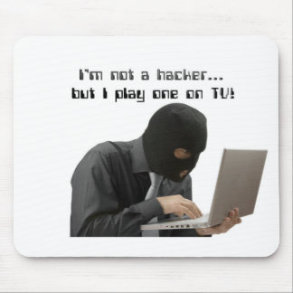 I'm not a hacker mouse pad