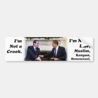 I'm Not A Liar Bumper Sticker