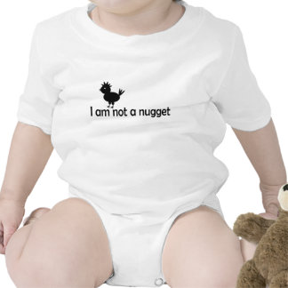 i'm not a nugget rompers