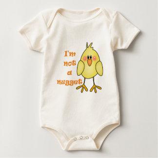 I'm Not A Nugget Vegan/Vegetarian Baby Baby Bodysuit