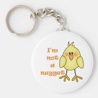 I'm Not A Nugget Vegan/Vegetarian Keychain