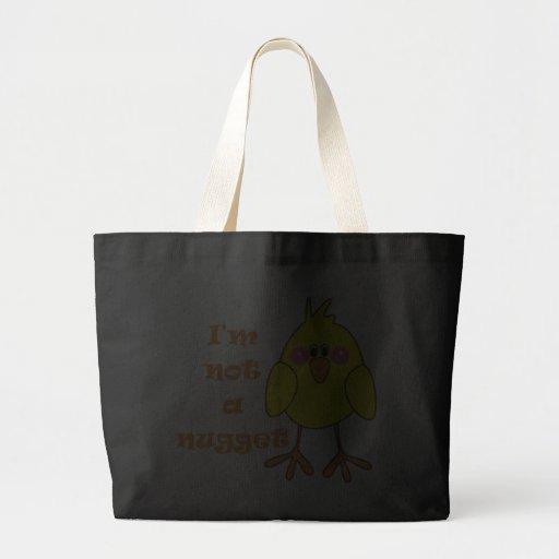 I'm Not A Nugget Vegan/Vegetarian Tote Bag