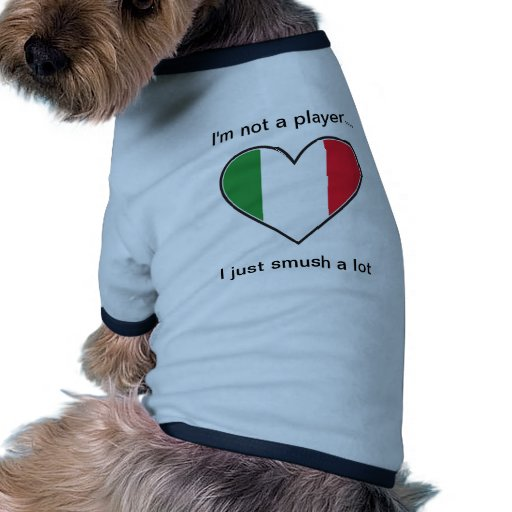 I'm not a player I just smush a lot Pet T Shirt
