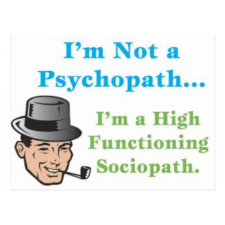 I'm Not a Psychopath... Postcard