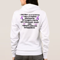 I'M NOT A STATISTIC- CROHN'S AWARENESS HOODIE