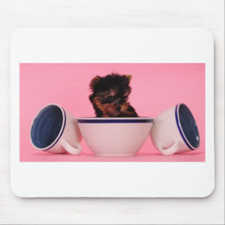 I'm not a Tea Cup Poodle! Mouse Pad