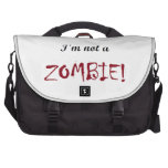 I'm not a Zombie Bag Bags For Laptop