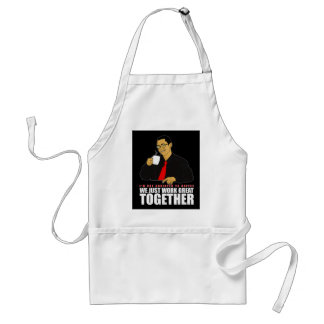 I'm not addicted to coffee adult apron