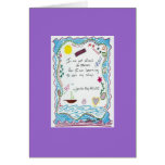 I'm Not Afraid of Storms ... Greeting Card