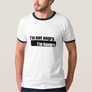 I'm not angry I'm hangry tshirt