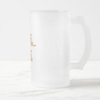 I'm Not Arrogant Frosted Glass Beer Mug