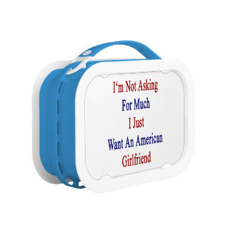 I'm Not Asking For Much I Just Want An American Gi Replacement Plate