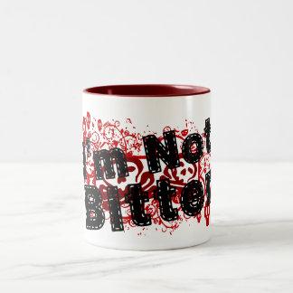 I'm Not Bitter Two-Tone Coffee Mug