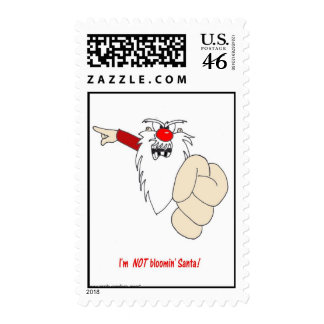 Im NOT Blooming Santa Stamp
