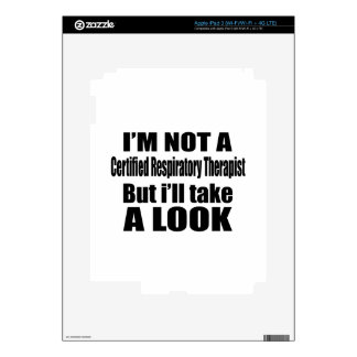 I'm not Certified Respiratory Therapist but i'll t iPad 3 Decal