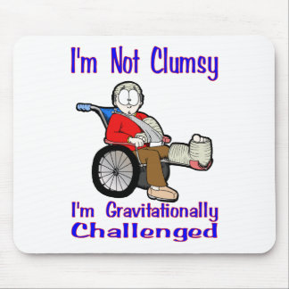 I'm Not Clumsy Mouse Pad
