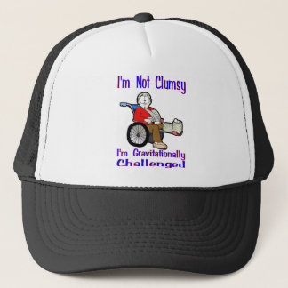 I'm Not Clumsy Trucker Hat