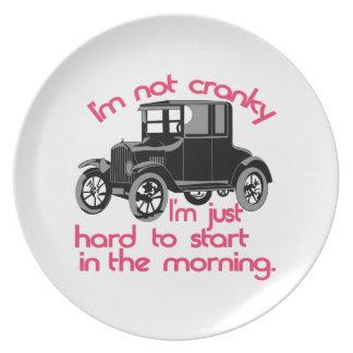 Im Not Cranky Plate