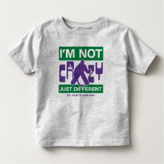 I'm Not Crazy, Funny Hockey Goalie Toddler Tee