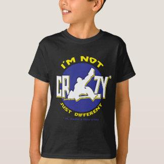 I'm Not Crazy Hockey Goalie T-shirt