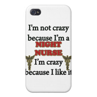 I'm Not Crazy iPhone 4 Covers