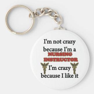 I'm Not Crazy Keychain