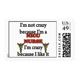 I'm Not Crazy Postage