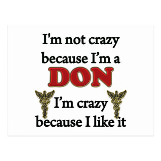 I'm Not Crazy Postcards