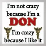I'm Not Crazy Poster