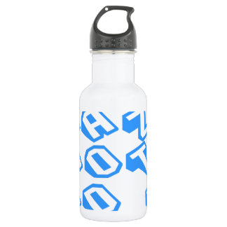 Im-not-crazy-slice-blue.png Stainless Steel Water Bottle