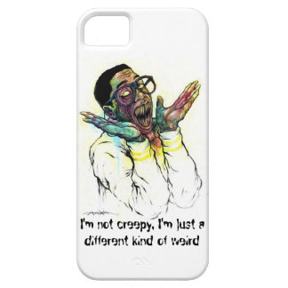 I'm not creepy, I'm just a different kind of weird iPhone SE/5/5s Case