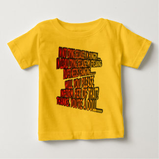 I'm not crying....... baby T-Shirt