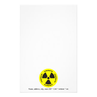 I'm Not Dead Yet!  Cancer Radiation Humor Stationery