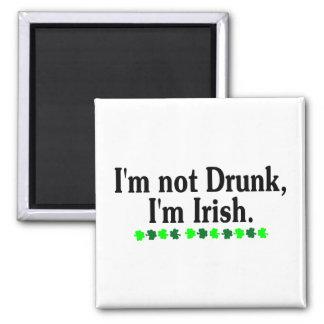 Im Not Drunk Im Irish 2 Magnets