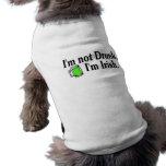 Im Not Drunk Im Irish Green Beer Mug Doggie Tshirt