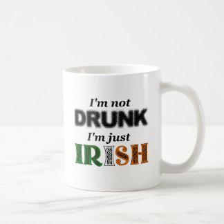 I'm not drunk, I'm just Irish Classic White Coffee Mug