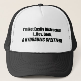 I'm Not Easily Distracted I Hey Look A Hydraulic S Trucker Hat